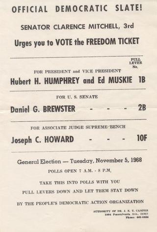 Humphrey1969flyer