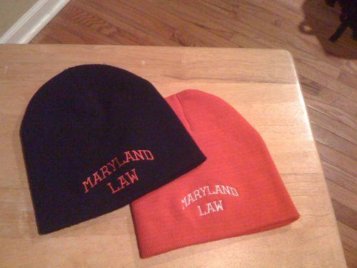 MD Law Winter Hats