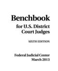 Benchbook